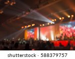 blurred background of event... | Shutterstock . vector #588379757