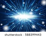 space warp. time travel concept. | Shutterstock .eps vector #588399443