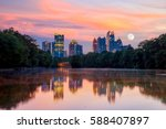Atlanta  Georgia Skyline From...