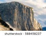 El Capitan Rock Close Up In...