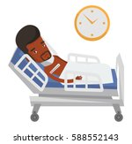 african sick man with fever... | Shutterstock .eps vector #588552143