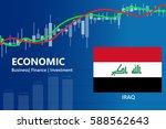 economy iraq financial growth... | Shutterstock .eps vector #588562643
