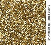 seamless gold glitter... | Shutterstock .eps vector #588566543