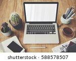 computer network connection... | Shutterstock . vector #588578507