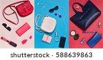 women's accessories  handbags ... | Shutterstock . vector #588639863