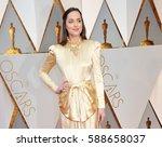dakota johnson at the 89th... | Shutterstock . vector #588658037
