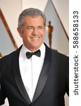mel gibson at the 89th annual... | Shutterstock . vector #588658133