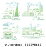 vector concept and infographic... | Shutterstock .eps vector #588698663