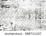 distressed overlay texture of... | Shutterstock .eps vector #588711107