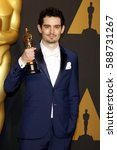 Small photo of Damien Chazelle at the 89th Annual Academy Awards - Press Room held at the Hollywood and Highland Center in Hollywood, USA on February 26, 2017.