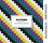 geometric seamless pattern | Shutterstock .eps vector #588769163