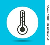 temperature icon. temperature... | Shutterstock .eps vector #588779903