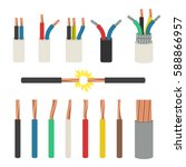 Electrical Cables. Set With...