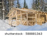 New Christmas Wooden House At...