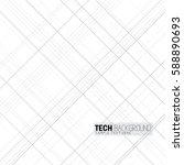 vector illustration criss cross ... | Shutterstock .eps vector #588890693