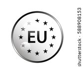 eu pictogram. | Shutterstock .eps vector #588908153