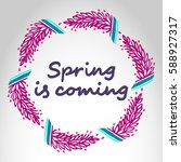 """poster """"spring is coming...""""... 