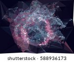 abstract multicolor mosaic... | Shutterstock .eps vector #588936173