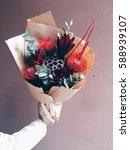 unusual flowers. wedding...   Shutterstock . vector #588939107