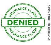 grunge green insurance claim... | Shutterstock .eps vector #588976697