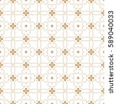 vector seamless pattern.... | Shutterstock .eps vector #589040033