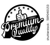 premium quality label  vintage...   Shutterstock .eps vector #589040153