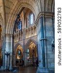 london uk   february 24  ... | Shutterstock . vector #589052783