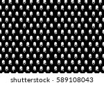 flat ghost dot pattern. vector... | Shutterstock .eps vector #589108043