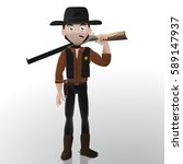 far west cartoon sheriff