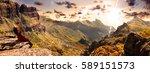 scenery valley in spain.nature... | Shutterstock . vector #589151573