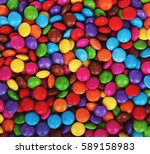 sweet colorful candy. candy... | Shutterstock . vector #589158983