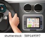 realistic vector illustration... | Shutterstock .eps vector #589169597
