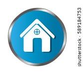 circular border button... | Shutterstock .eps vector #589184753