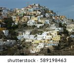 aspect of the scenic village... | Shutterstock . vector #589198463
