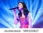 sophie ellis bextor performs at ...   Shutterstock . vector #589233827