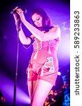 sophie ellis bextor performs at ... | Shutterstock . vector #589233863