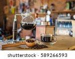 Siphon Vacuum Coffee Maker On...