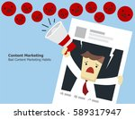 illustration vector of bad... | Shutterstock .eps vector #589317947