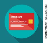 credit card electronic commerce | Shutterstock .eps vector #589328783