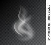 smoke vector illustration on...   Shutterstock .eps vector #589366217