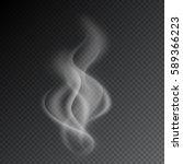 smoke vector illustration on... | Shutterstock .eps vector #589366223