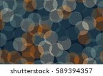 seamless pattern. the chaotic... | Shutterstock .eps vector #589394357