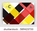 business a4 business brochure... | Shutterstock .eps vector #589423733