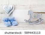 greeting children form with... | Shutterstock . vector #589443113