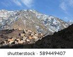 Village  Morocco  Toukbal...