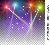 special light effects.... | Shutterstock .eps vector #589466207
