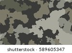 camouflage for background. eps... | Shutterstock .eps vector #589605347