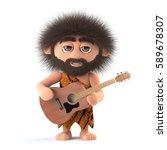 3d render of a funny cartoon...   Shutterstock . vector #589678307