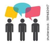 people vector icon | Shutterstock .eps vector #589682447