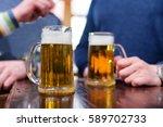 beer pint | Shutterstock . vector #589702733